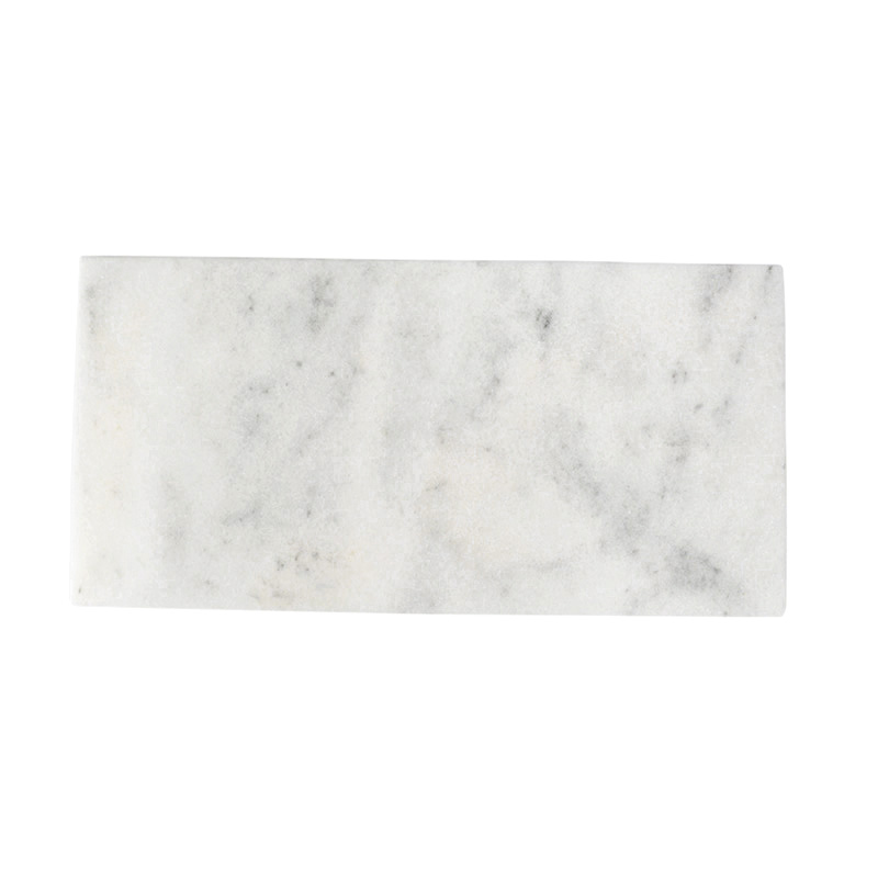 WHITE MARBLE SERVING BOARD 20X40CM