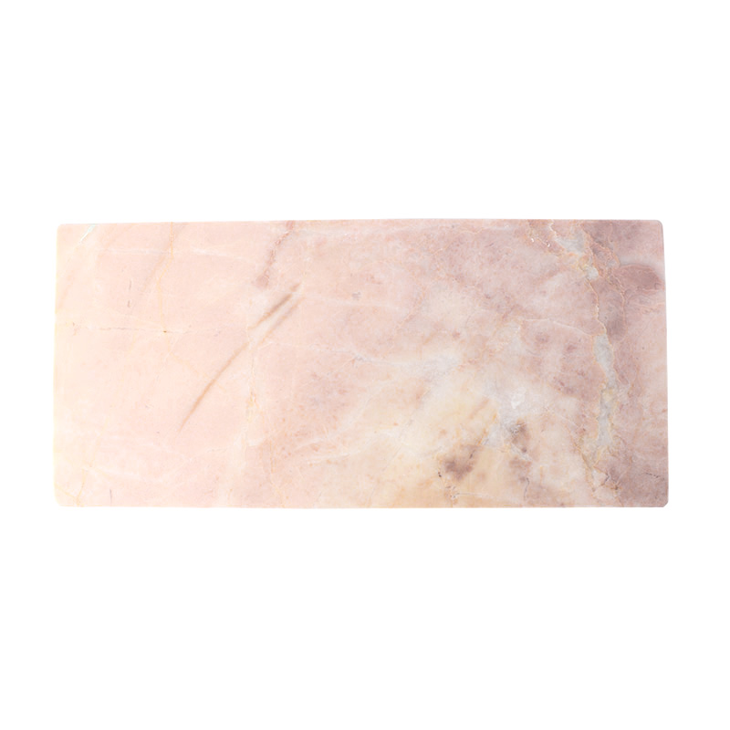 PINK MARBLE SERVING BOARD 15X30CM