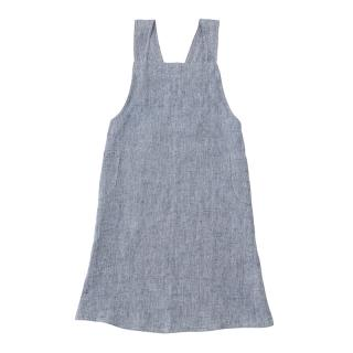LINGE PARTICULIER JAPANESE ADULT APRON BLUE CHAMBRAY