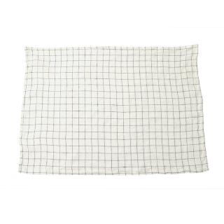 LINGE PARTICULIER DISH/HAND TOWEL 55X80CM WH/NV CHECK