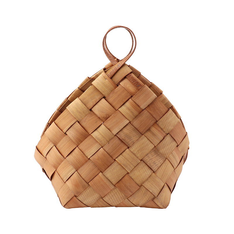 HOUSE DOCTOR BASKET CONICAL BROWN MEDIUM