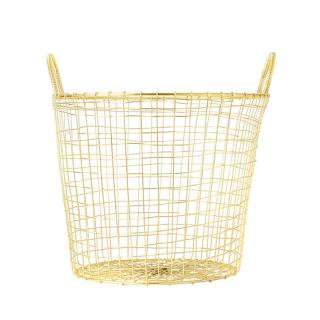 HOUSE DOCTOR BASKET WIRE BRASS MEDIUM