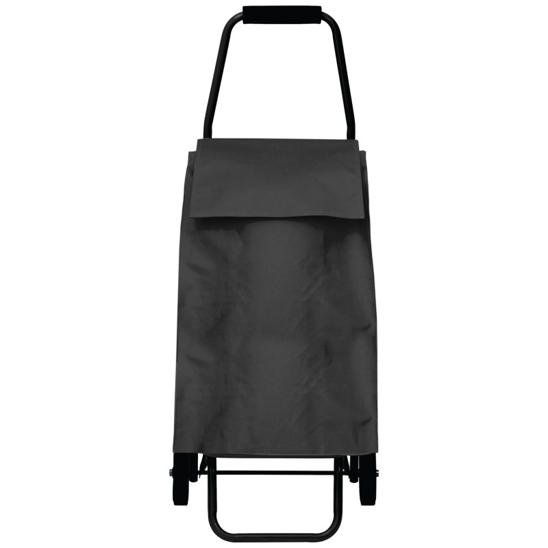 PERIGOT/ROLLING CART LAMINATED CANVAS BLACK
