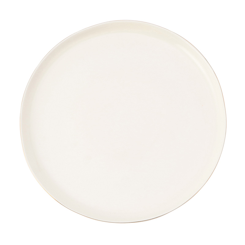 ABBESSES PLATE GOLD 27CM