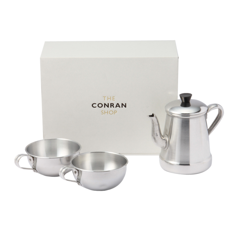 ALUMINIUM  COFFEE BREAK SET