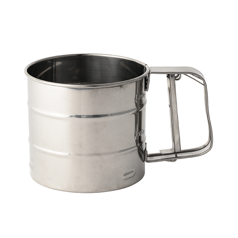 STAINLESS STEEL FLOURSUGAR SIFTER