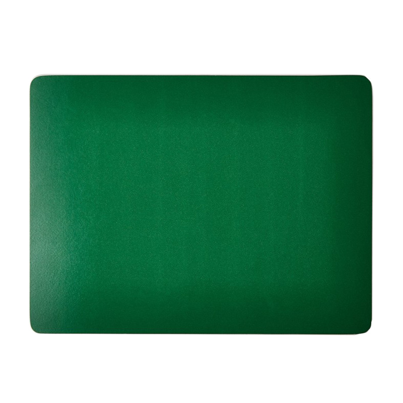 COLOURED PLACEMAT GREEN 28.5X22