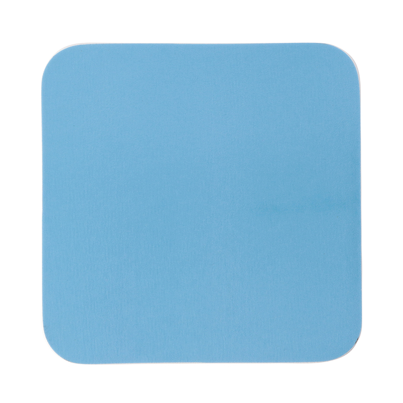 SQUARE COASTER GREEK BLUE 10X10