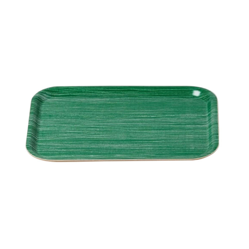 F.P/GREEN LINE TRAY SMALL 27X20CM