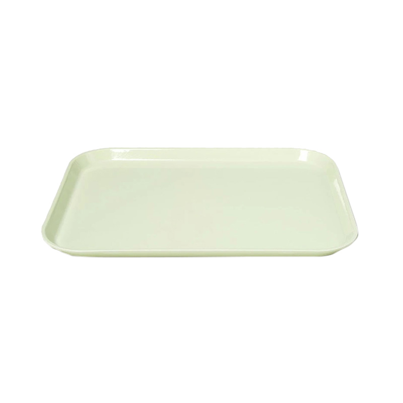 KEY LIME LARGE RECT TRAY 35.5 X 45.7CM