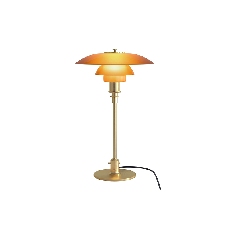PH3/2 LIMITED EDITION TABLE LAMP AMBER  (Louis Poulsen)