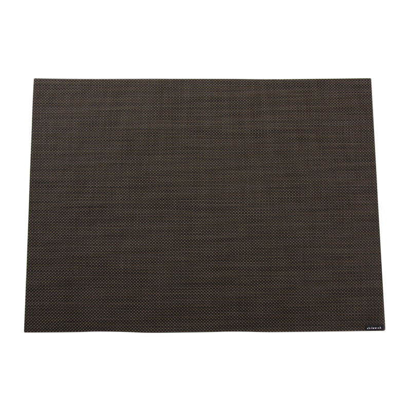 MINI BASKET WEAVE PLACEMAT ESPRESSO