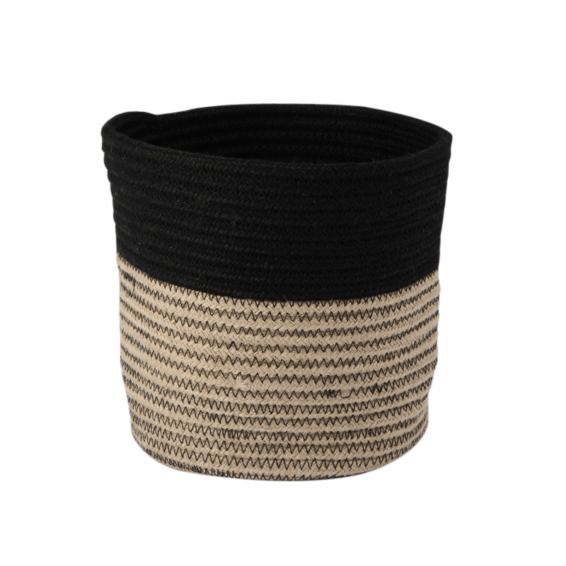 RIB BASKET NATURAL / BLACK M