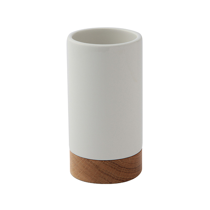 OAK WOOD/CERAMIC TUMBLER
