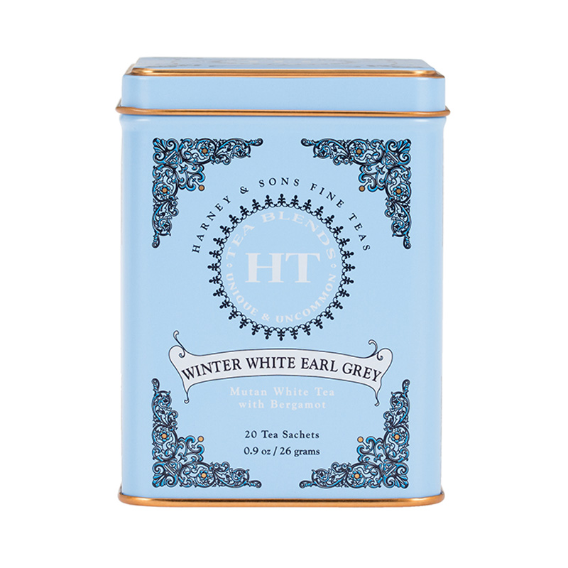 HARNEY&S HT CAN WINTER WHITE EARL GREY