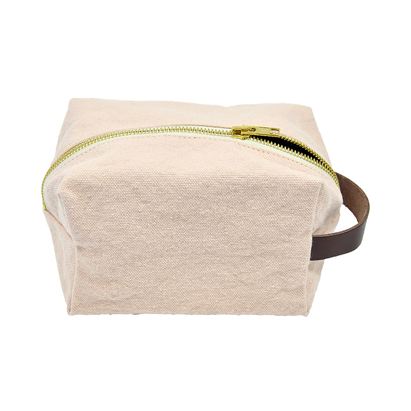 AJ/TOILET BAG-ANDRE 100%COTTON-PINK