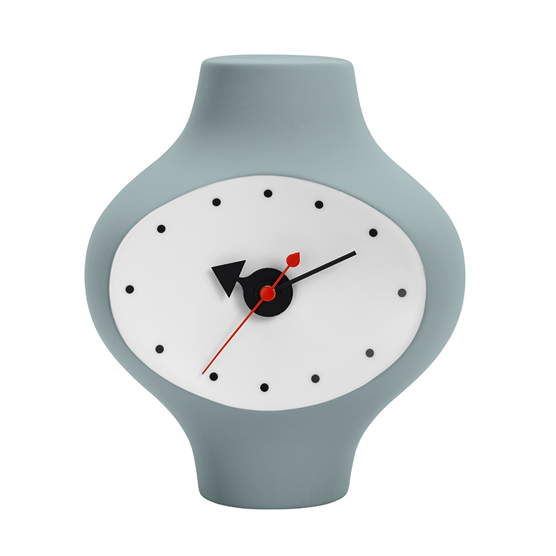 CERAMIC CLOCK MODEL3 DARK GREY BLUE