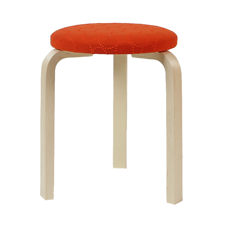 STOOL60 ORANGE(if1062)/NATURAL