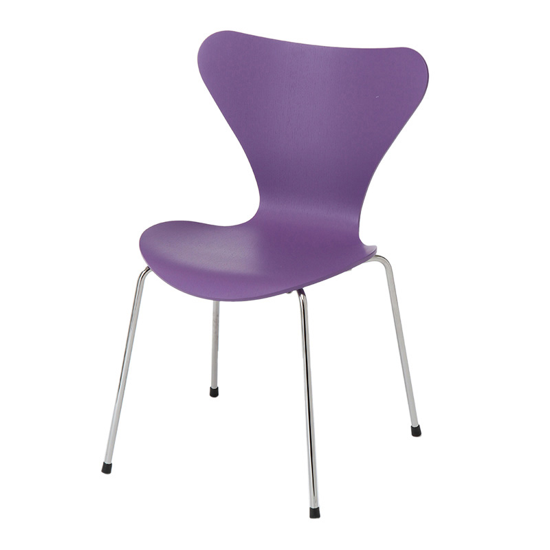 SERIES 7 CHAIR COLOURED ASH EVREN PURPLE