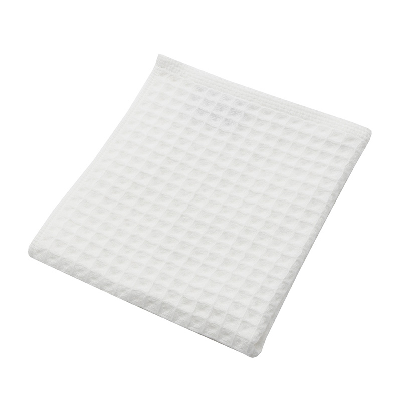 THE CONRAN SHOP ORIGINAL WAFFLE&GAUZE HAND TOWEL WHITE