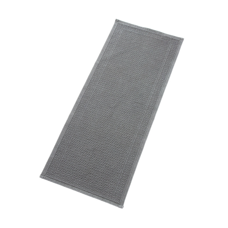 ORIGINAL PLAIN KITCHEN MAT 50X120CM GREY