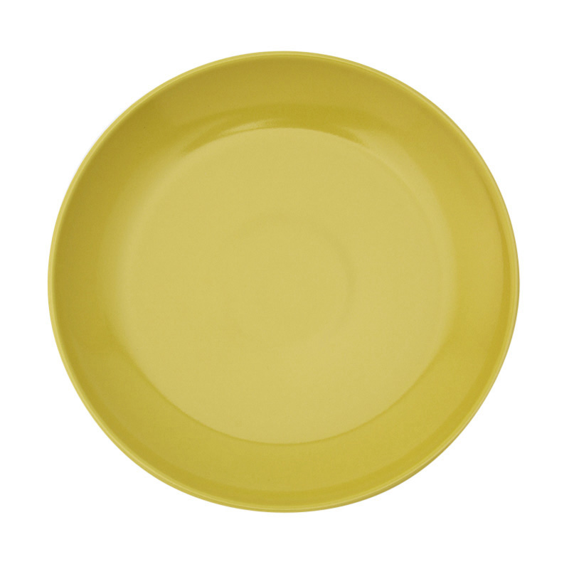 COMMON PLATE 24CM YELLOW 13217