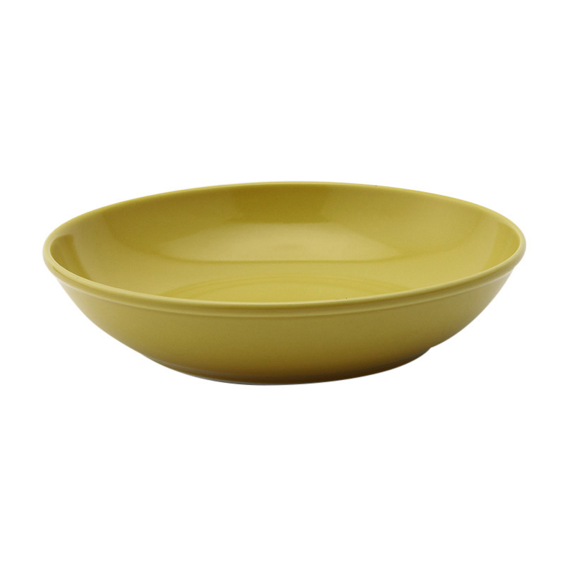 COMMON BOWL 21CM  YELLOW 13236