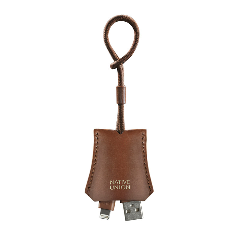 NATIVE UNION TAB CABLE BROWN
