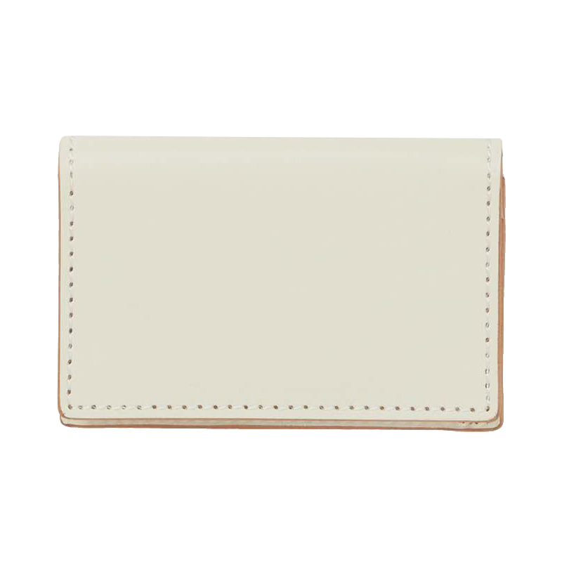 HENDER SCHEME FOLDED CARD CASE WHITE