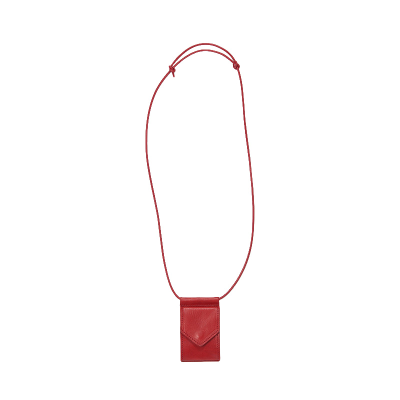 HENDER SCHEME HANG WALLET RED