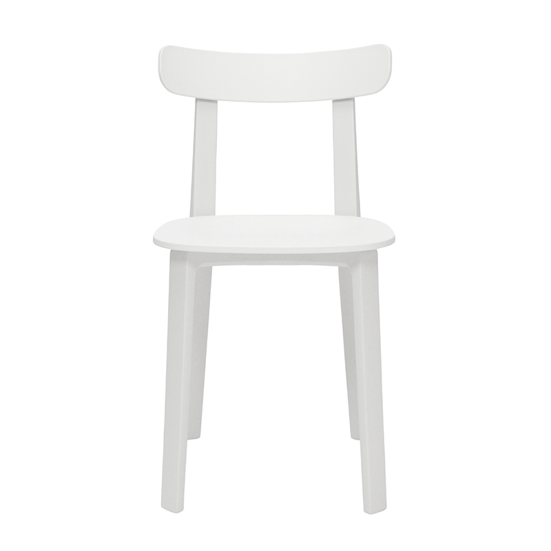 ALL PLASTIC CHAIR WHITE