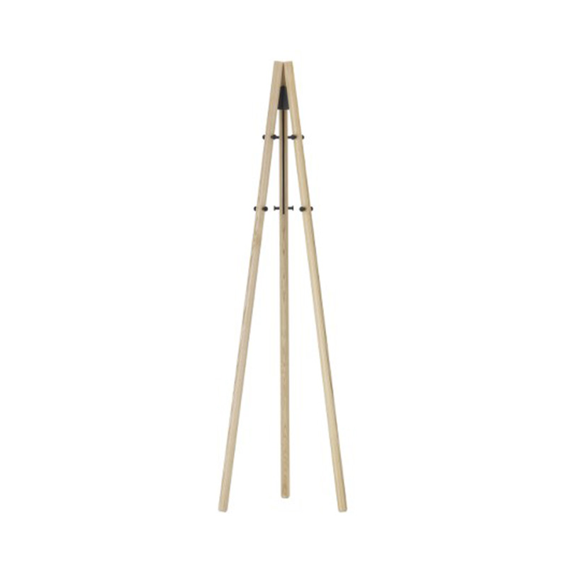 KIILA COATSTAND NATURAL/BLACK
