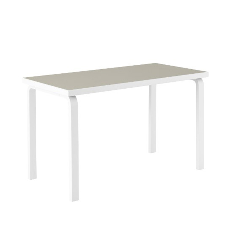 80A TABLE FINLAND100 PBL LINOLIUM/STN.WH