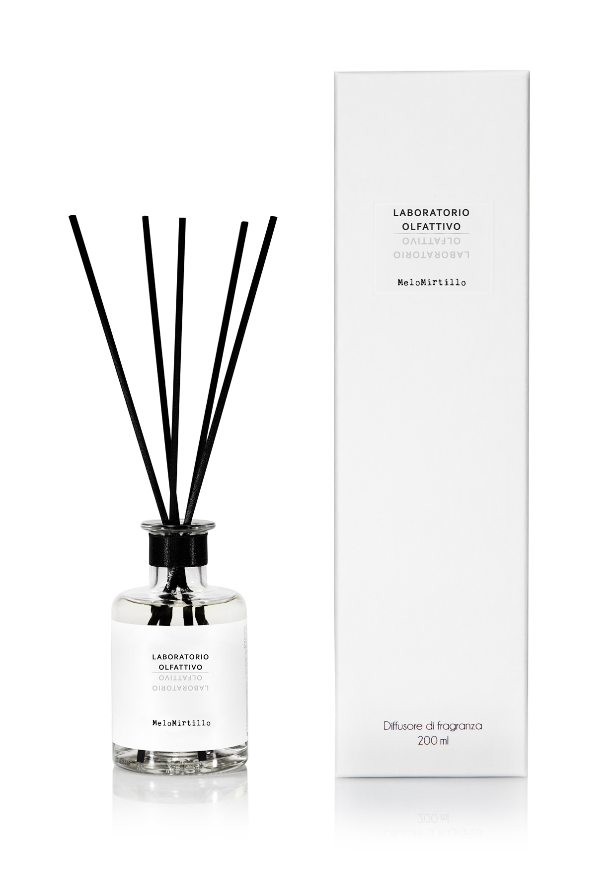 LABORATORIO OLFATTIVO DIFFUSER 200ML MELOMIRTILLO