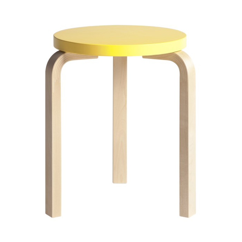 STOOL 60 PAIMIO YELLOW