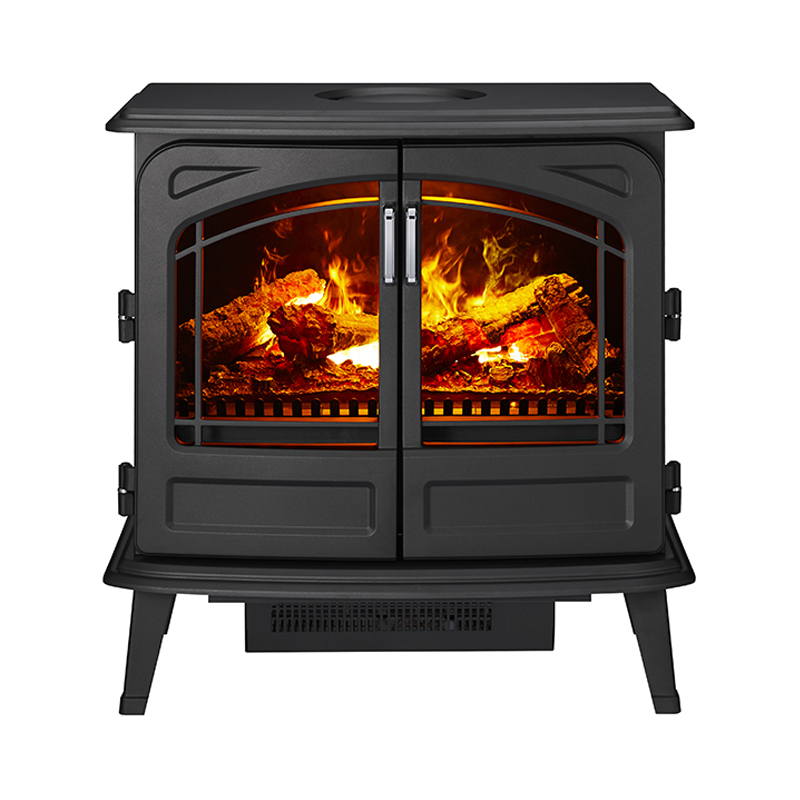 FORTROSE ELECTRIC HEATER BLACK