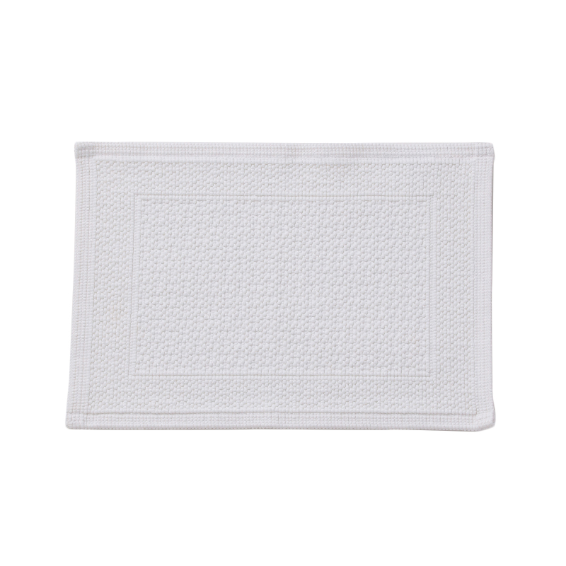 ORIGINAL PLAIN BATH MAT 30X50CM WHITE