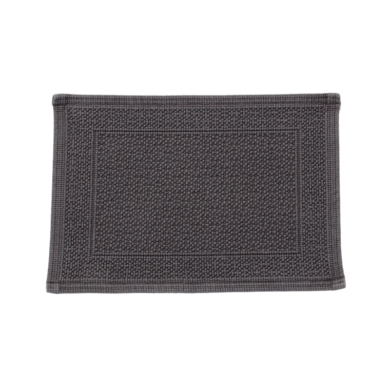 ORIGINAL PLAIN BATH MAT 30X50CM GREY