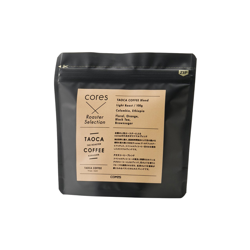CORES REC COFFEE GLINDED 100G