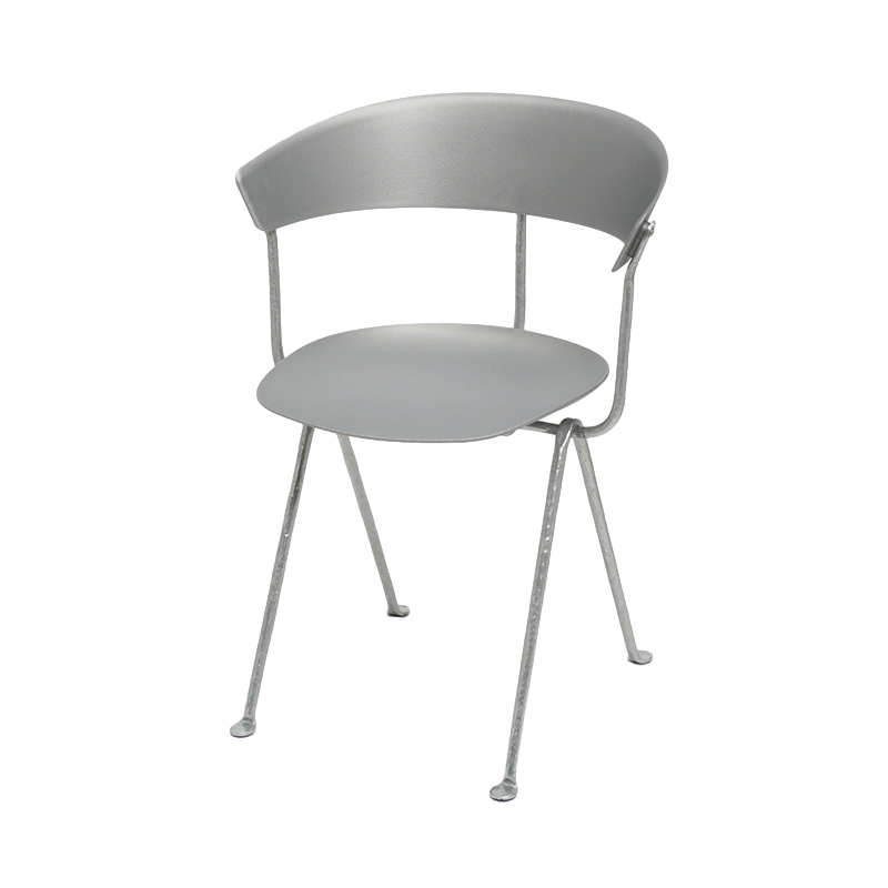 OFFICINA CHAIR GREY/SILVER