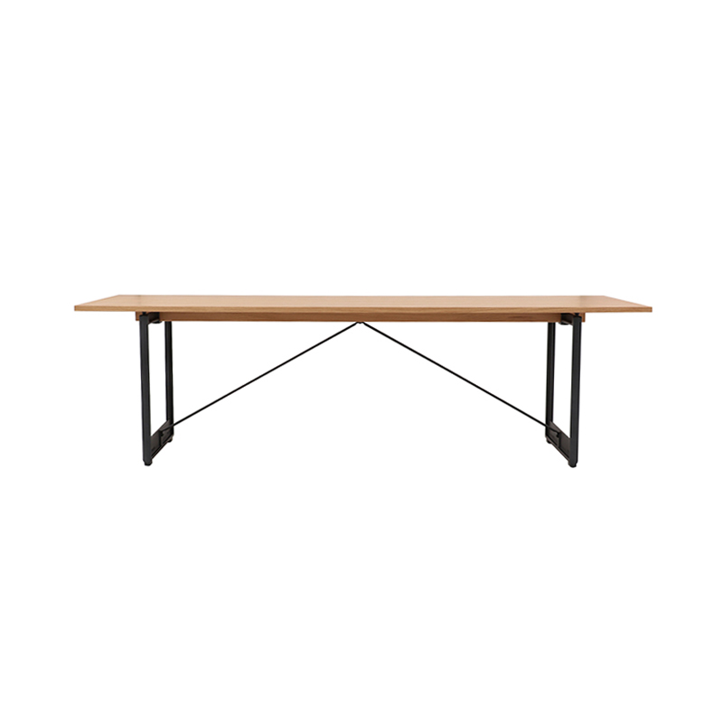 BRUT TABLE 260x85 OAK/GREY