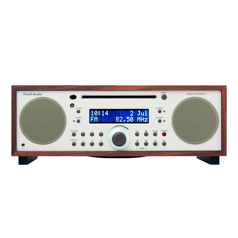 TIVOLI MUSIC SYSTEM BLUETOOTH WALNUT BEIGE