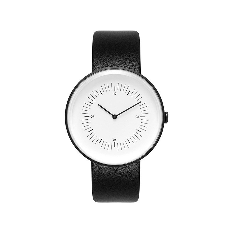 NOMAD WATCH INLINE BLACK WHITE BLACK