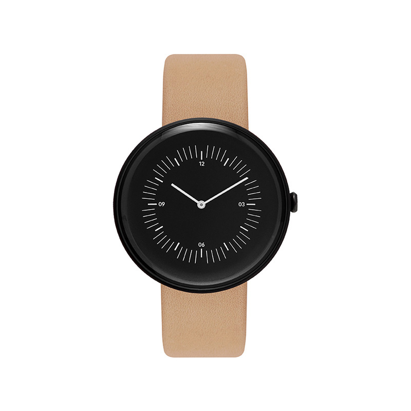 NOMAD WATCH INLINE BLACK BLACK NATURAL
