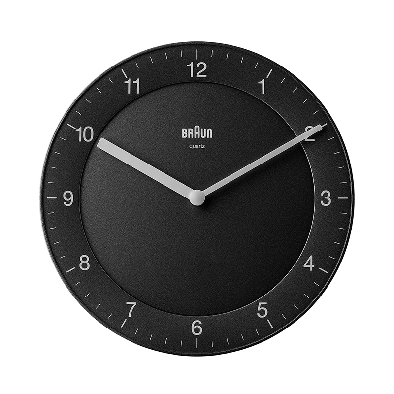 BRAUN BC06B ANALOGUE WALL CLOCK
