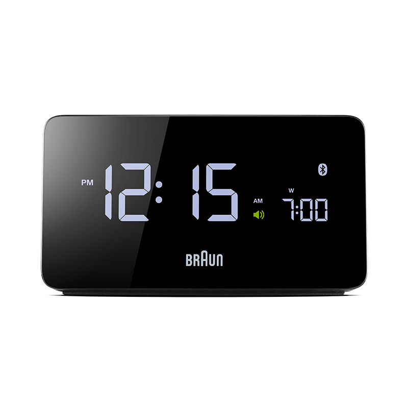 BRAUN BNC020BK DIGITAL CLOCK