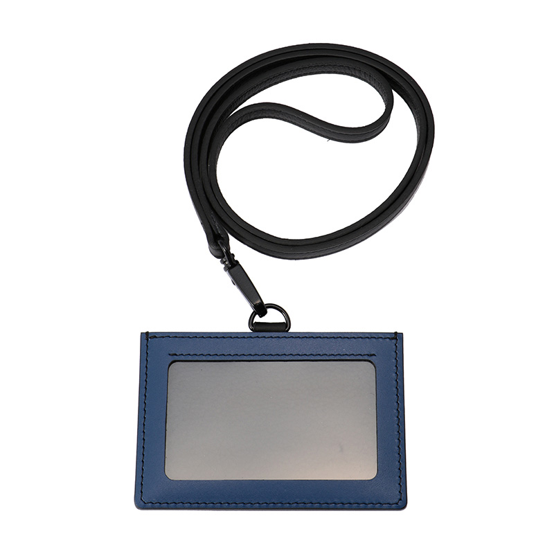 THE CONRAN SHOP ORIGINAL IDCARD HOLDER BLACK BLUE