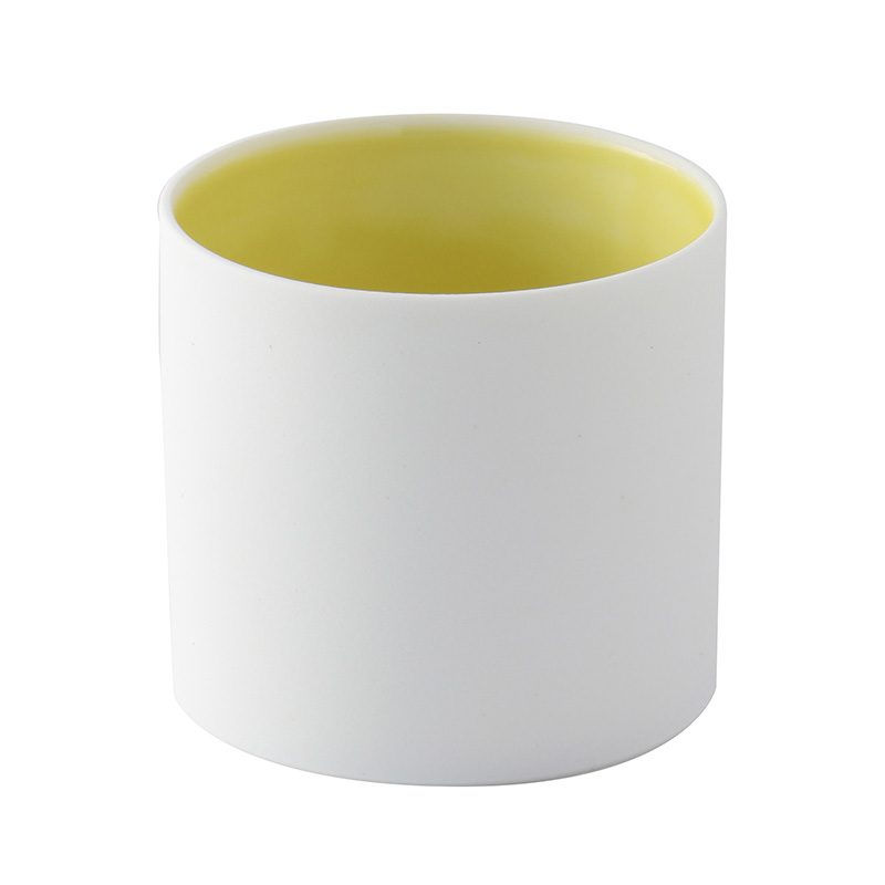 AMACUFA TEALIGHT HOLDER YELLOW