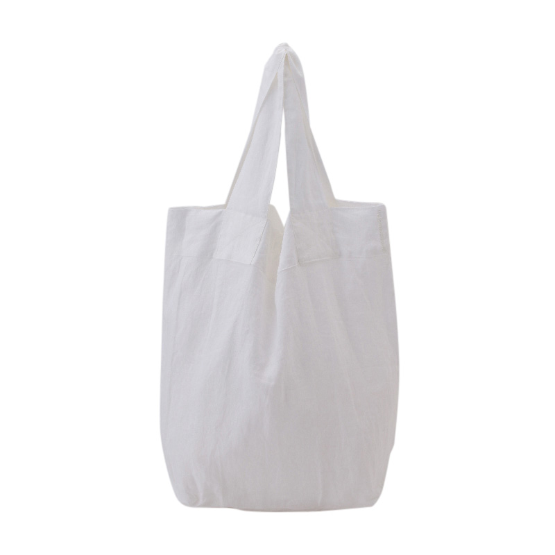 ORIGINAL LINEN MARCHE BAG WHITE L