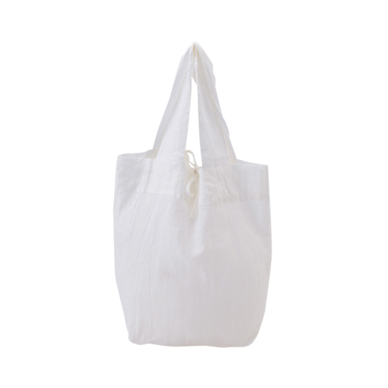 ORIGINAL LINEN MARCHE BAG WHITE M